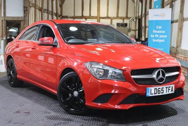 2015 Mercedes-Benz CLA 2.1d CLA 200 Sport (s/s) Coupe 4d (65 reg)