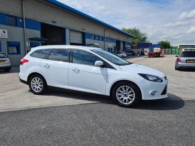 2012 Ford Focus 1.6TD Titanium Estate (61 reg)