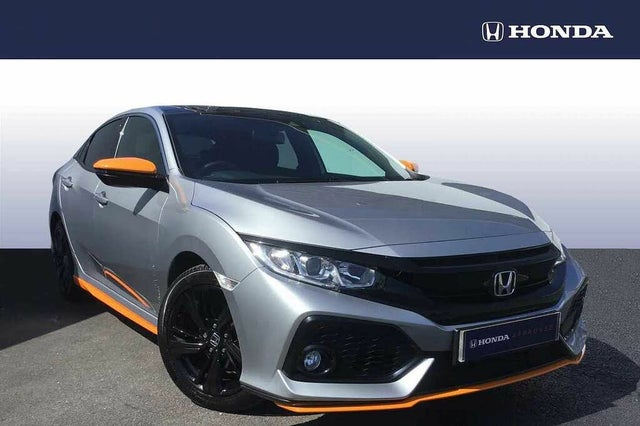 2018 Honda Civic 1.0 VTEC TURBO EX (129ps) (s/s) Hatchback 5d (HF reg)