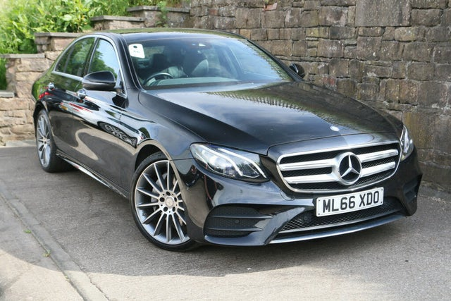 2016 Mercedes-Benz E-Class 2.0d E220d AMG Line (Premium)(s/s) Saloon 4d (66 reg)