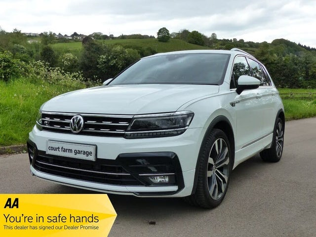 2017 Volkswagen Tiguan 2.0TDI R-Line 4Motion BMT (s/s) (67 reg)
