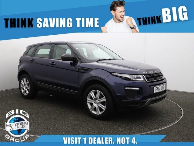 2017 Land Rover Range Rover Evoque 2.0eD4 SE TECH Hatchback 5d (LV reg)