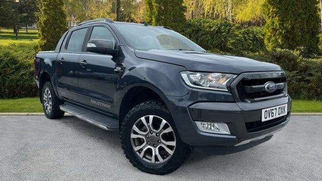 2017 Ford Ranger 3.2TD Wildtrak (200PS)(EU6) Wildtrack Pick-Up auto (67 reg)