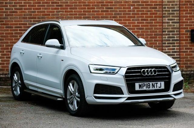 2018 Audi Q3 1.4 TFSI S Line Edition (UZ reg)