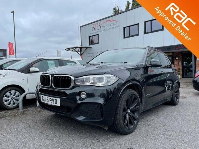 2015 BMW X5 3.0TD xDrive30d M Sport Auto (AK reg)