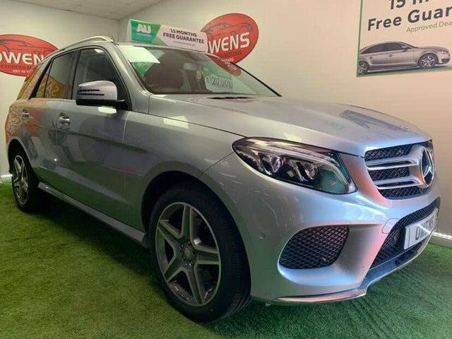 2016 Mercedes-Benz GLE Class 2.1d GLE250d AMG Line (C1 reg)