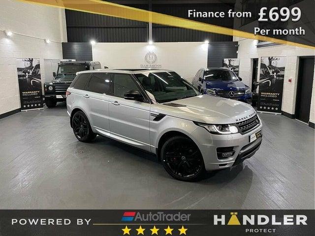 2018 Land Rover Range Rover Sport 3.0 SD V6 HSE Dynamic SD V6 4X4 (67 reg)