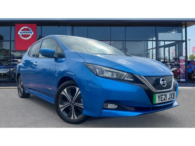 2021 Nissan Leaf E Tekna (21 reg)