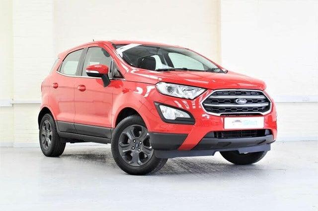 2018 Ford EcoSport 1.0T Zetec (125ps) (01 reg)