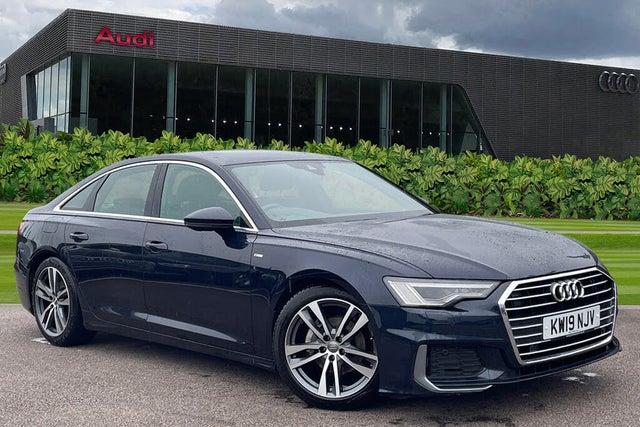 2019 Audi A6 Saloon 2.0 40 TDI S Line quattro (19 reg)