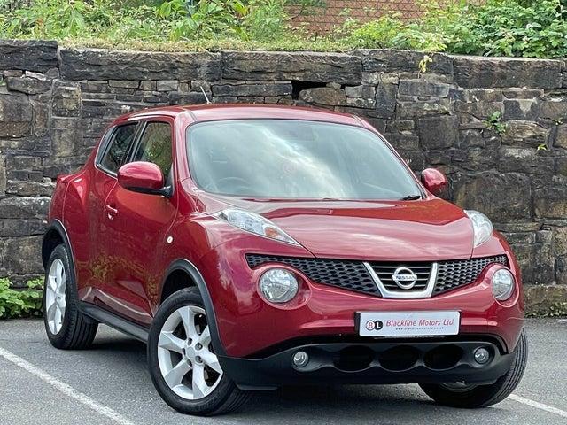 2012 Nissan Juke 1.6 Kuro 16v 1598cc (62 reg)
