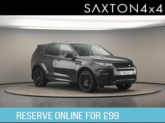 2018 Land Rover Discovery Sport 2.0SD4 HSE Dynamic Lux (18 reg)