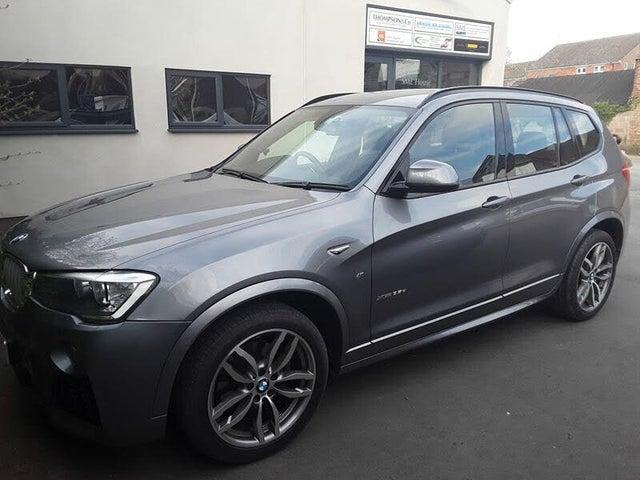 2016 BMW X3 3.0TD xDrive35d M Sport (66 reg)