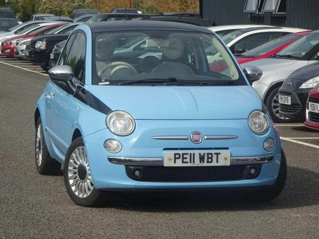 2011 Fiat 500 1.3TD LOUNGE 16v (11 reg)