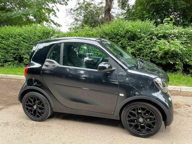 2016 Smart fortwo 1.0 Edition Black (66 reg)