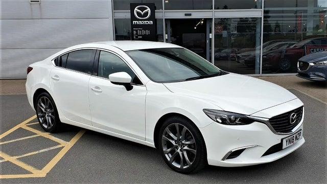 2018 Mazda Mazda6 2.0 Sport (NAV) Saloon 4d (ZG reg)