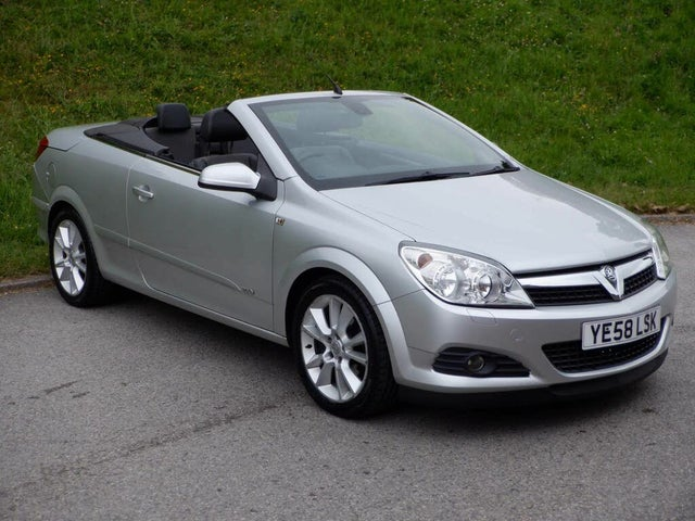 2009 Vauxhall Astra 1.8 Twin Top Design 16v Coupe (58 reg)