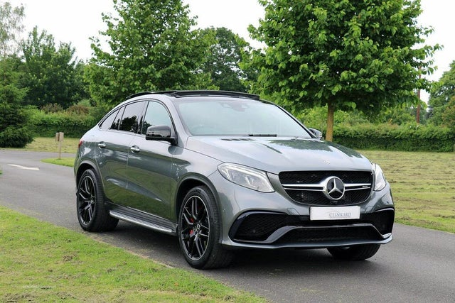 2018 Mercedes-Benz GLE Class 5.5 GLE63 AMG S Night Edition (577bhp) Coupe 4d (69 reg)