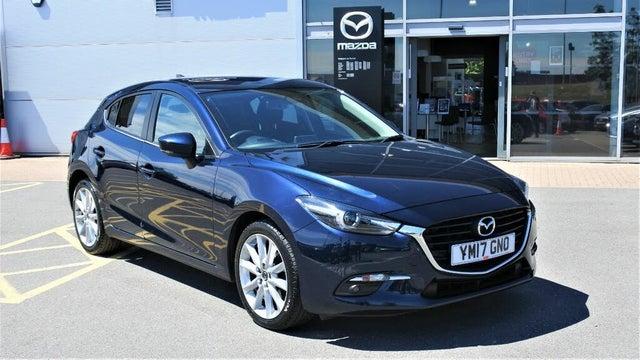 2017 Mazda Mazda3 2.0 Sport Nav (120ps) Hatchback 5d (ZB reg)
