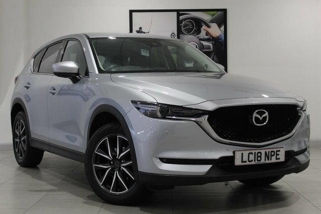 2018 Mazda CX-5 2.2TD Sport (Nav) (150ps) (2WD)(s/s) Auto (18 reg)