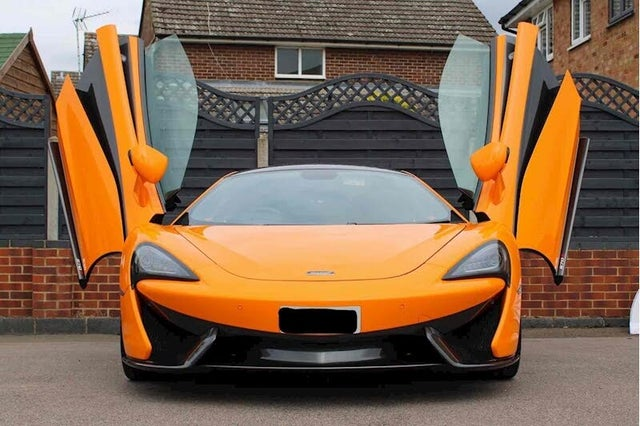 2016 McLaren 570S 3.8 (M1 reg)