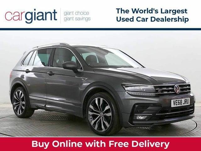 2019 Volkswagen Tiguan 2.0TDI R-Line (190ps) SCR 4Motion DSG (68 reg)