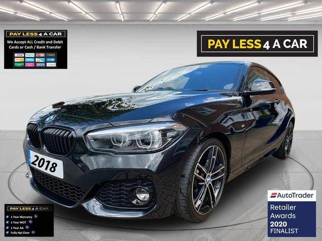2018 BMW 1 Series 2.0TD 118d M Sport Shadow Edition 3d (A1 reg)