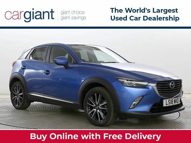 2018 Mazda CX-3 2.0 Sport Nav (120ps) (2WD)(s/s) (ZD reg)