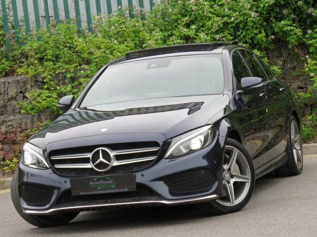 2015 Mercedes-Benz C-Class 2.1TD C300h AMG Line (Premium Plus)(s/s) Saloon 4d (15 reg)