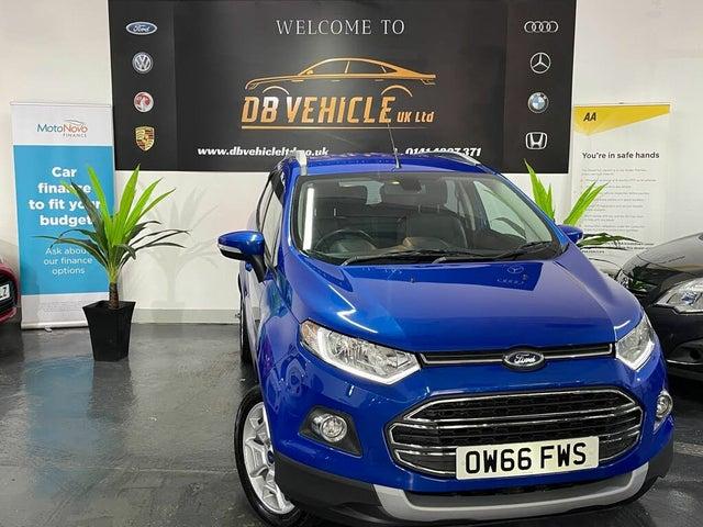 2017 Ford EcoSport 1.0T Titanium (66 reg)