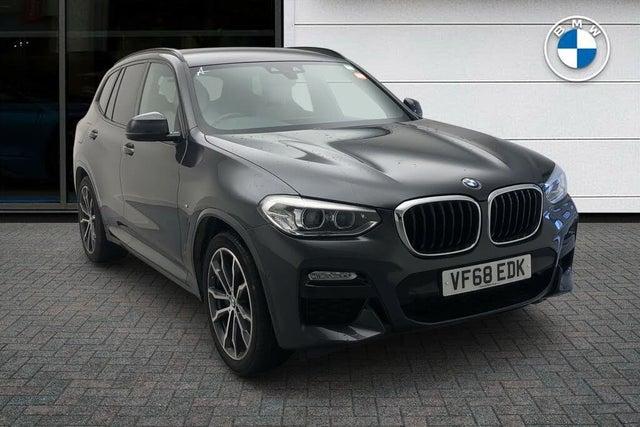 2019 BMW X3 3.0TD xDrive30d M Sport (s/s) (68 reg)