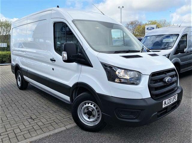 2020 Ford Transit 2.0TDCi 350 L2H3 Leader (130PS)(EU6dT) Panel Van auto (0E reg)