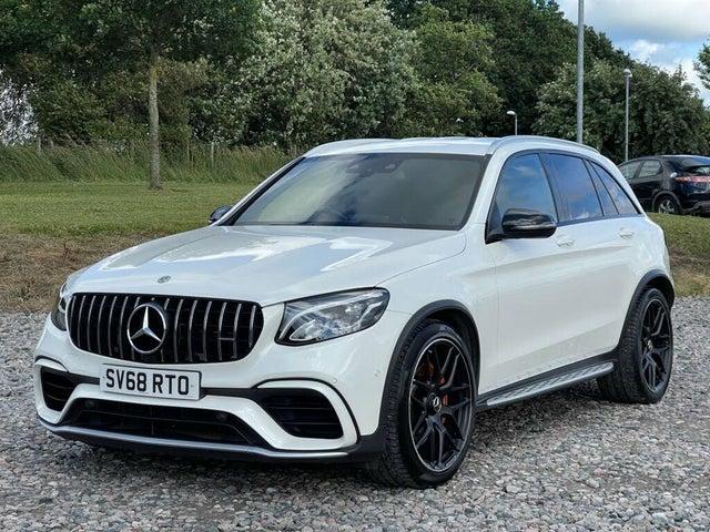 2018 Mercedes-Benz GLC-Class 4.0 GLC AMG 63 S (s/s) Station Wagon 5d 4MATIC 9G-Tronic (68 reg)