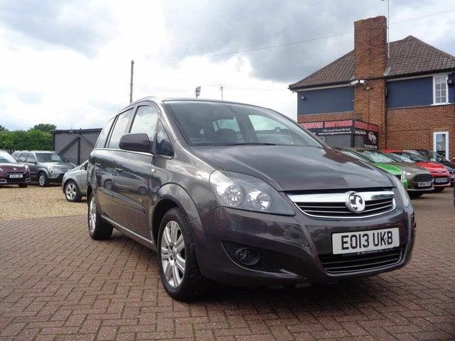 2013 Vauxhall Zafira 1.8 Design (140ps) (13 reg)