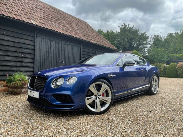 2016 Bentley Continental 4.0 GT V8 S 4X4 Coupe (BF reg)