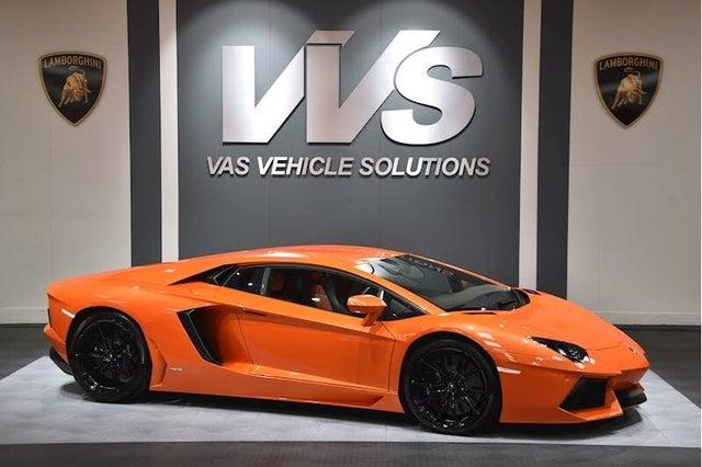 2014 Lamborghini Aventador 6.5 LP 700-4 Coupe (WE reg)