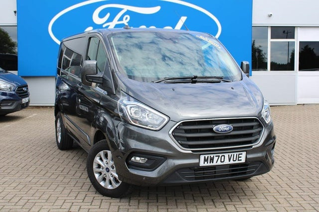 2021 Ford Transit Custom 2.0TDCi 300 L1H1 Limited (130PS)(EU6dT) Panel Van (70 reg)