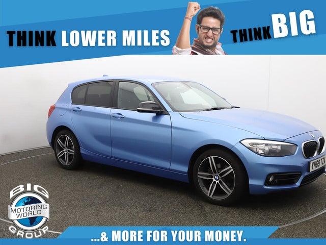 2019 BMW 1 Series 1.5 118i Sport (138bhp) 5d (69 reg)