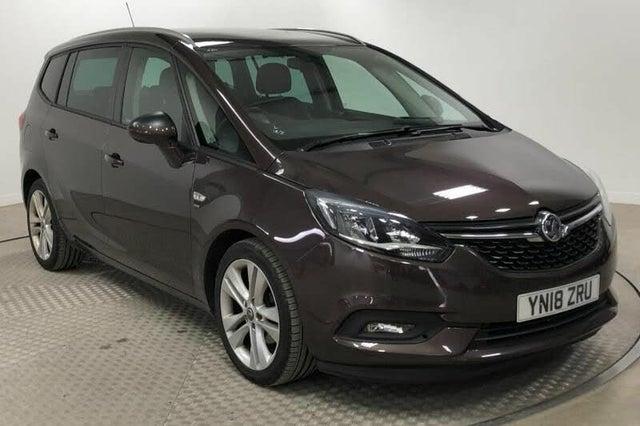 2018 Vauxhall Zafira Tourer 1.4i 16v Turbo SRi Nav (VP reg)