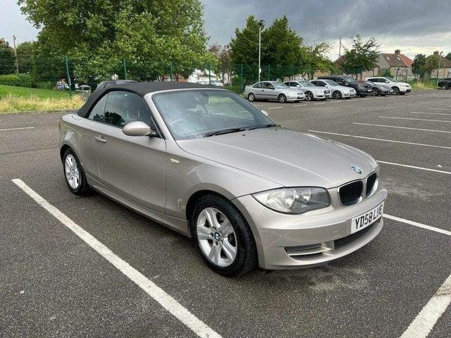 2008 BMW 1 Series 2.0TD 120d SE Convertible 2d (58 reg)