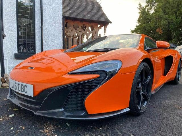 2015 McLaren 650S 3.8 (M1 reg)