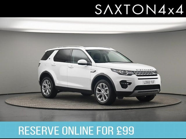 2018 Land Rover Discovery Sport 2.0Td4 HSE (180ps) (68 reg)