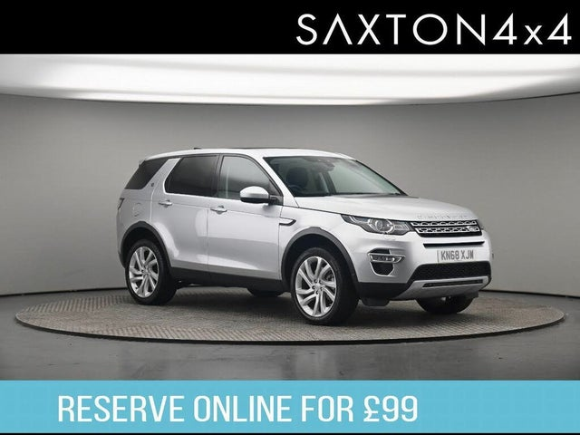 2018 Land Rover Discovery 2.0SD4 HSE Luxury AWD (LC reg)