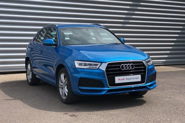2018 Audi Q3 1.4 TFSI S Line Edition Tronic (18 reg)