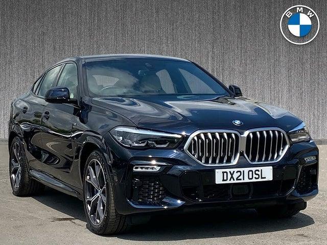 2021 BMW X6 3.0TD xDrive40d M Sport (335bhp) MHT Auto (AT reg)