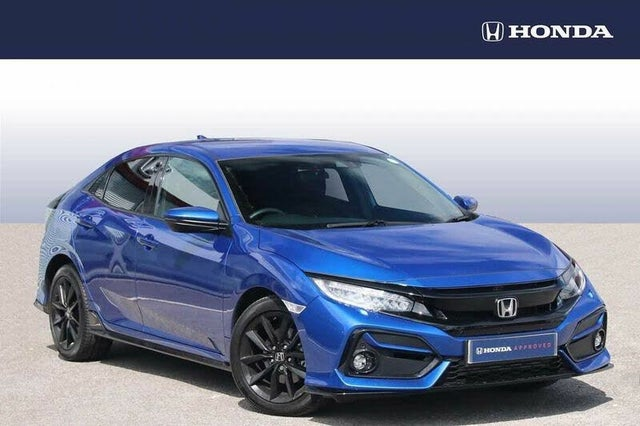 2021 Honda Civic 1.5 VTEC TURBO Sport (s/s) (HF reg)