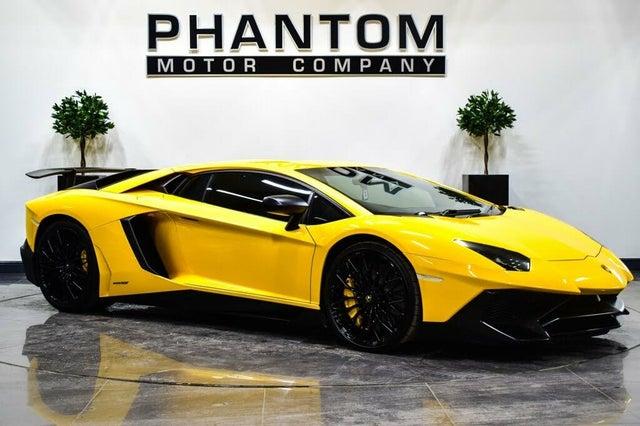 2015 Lamborghini Aventador 6.5 LP 700-4 Coupe (WE reg)