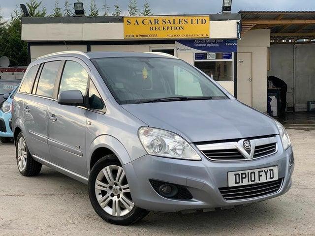 2010 Vauxhall Zafira 1.8 Design VVT (10 reg)