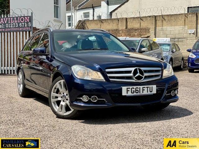 2011 Mercedes-Benz C-Class 2.1TD C220 CDI Elegance Edition 125 (175bhp) CDI BlueEFFICIENCY Estate 5d 7G-Tronic (61 reg)