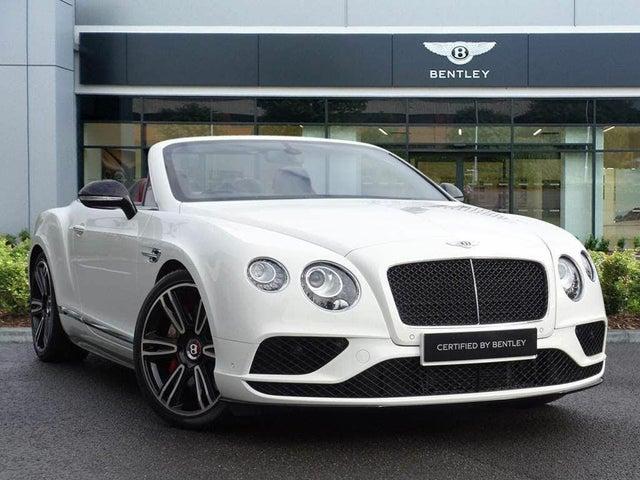 2018 Bentley Continental 4.0 GT V8 S (BG reg)
